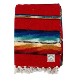 Iron & Resin Del Sol Blanket Red