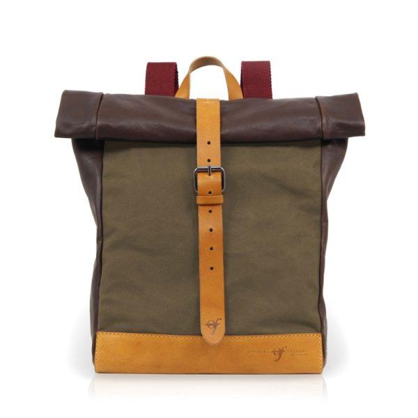 Officine Federali Urban Backpack Medium Green