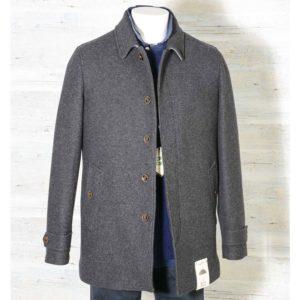 Cappotto Overcoat Camplin Grigio