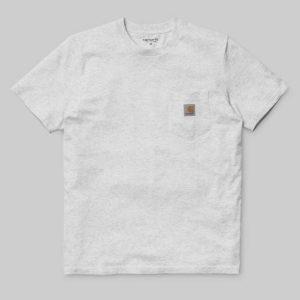 S/S Pocket T-Shirt Ash Heather