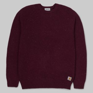 Anglistic Sweater - Merlot Heather