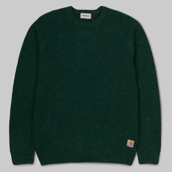 Anglistic Sweater - Dark Fir Heather
