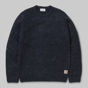 Anglistic Sweater - Dark Navy Heather
