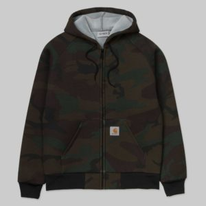 Car-Lux Hooded Jacket - Camo Evergreen / Grey