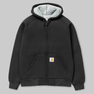 Car-Lux Hooded Jacket Black/Grey