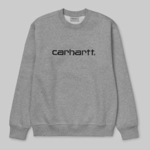 Carhartt Sweat - Grey Heather/Black
