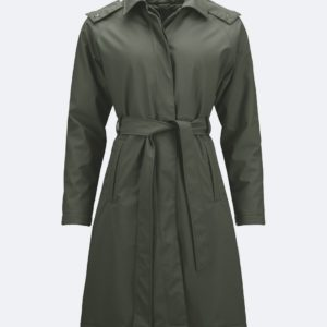 W Trench Coat - Green