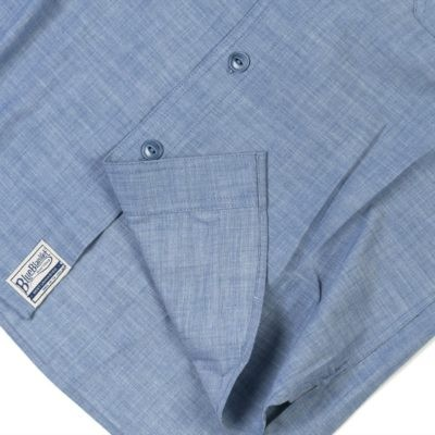 BLUE BLANKET DENIM SHIRT - S06