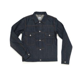 BLUE BLANKET DENIM JACKET - J06
