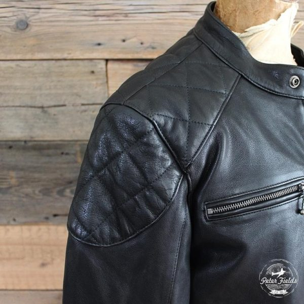 IRON AND RESIN - GIACCA BIKER IN PELLE