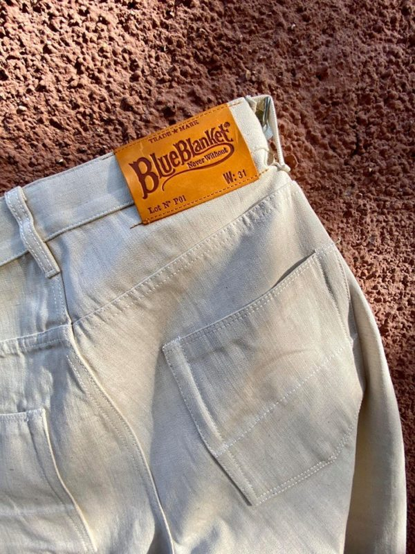 BLUE BLANKET SELVEDGE PANT - P01