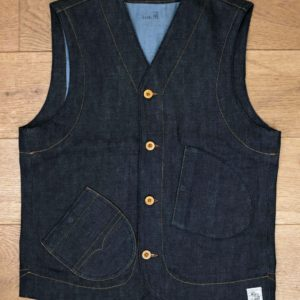 HEN'S TEETH - SELVEDGE DENIM VEST